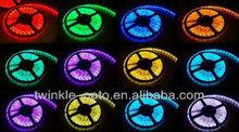 SMD5050 high brightness led strip light for christmas