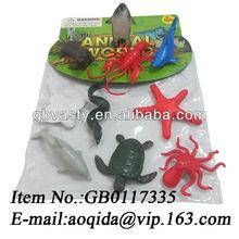 small plastic animal figurines sea animal toys