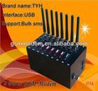 Gsm modem 8 port/ wavecom gsm 8 port modem with free software SMS caster 850/900/1800/1900