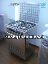 2012 Hot Sale GAS COOKER STAINLESS STEEL KITCHEN RANGE