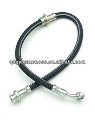 "DOT 1/8"" flexible rubber brake hose for motorcycle"