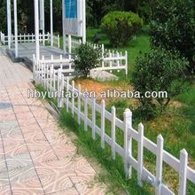 Decorative short garden fence