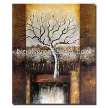 modern art high gloss oil painting for wall decor