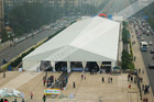 40m x 100m huge tents as meal shelter exported to Nigeria