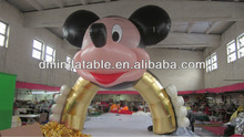 christmas decoration inflatable mickey mouse