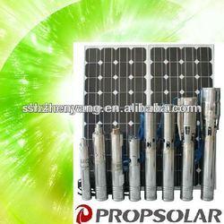 4inch solar motor pump(include solar panel) with 8CBM/H 38M