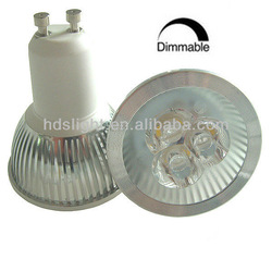 led dimmable gu10 5000k 5-6w