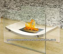 Bioethanol Fireplace, - Wavy