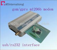 2012 Best price&quality multi sim card gsm modem with wavecom module