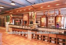 Luxury red copper craft beer machine, beer machinery 1000L
