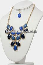 clover leaf inspired necklace set