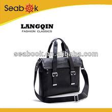 Fashion design men leather handbag