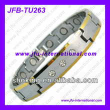 2012 Mens Fashion Bracelet With Magnet