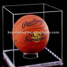 Transparent Acrylic Display Case for Basketballs