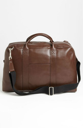 high quality leather travel bag/duffel bag