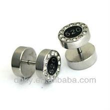 2012 wholesale fashion men's earring ear stud