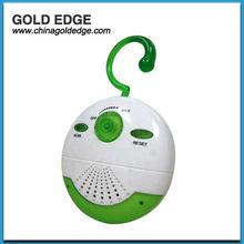 2012 new design round shape shower radio