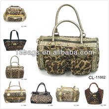 2012 genuine leather Leopard printing bag