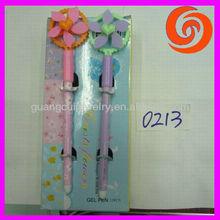 fashion plastic cartoon windmill magic pens for kids