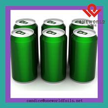 empty aluminum drink can