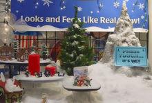 canada popolari della decorazione di natale neve artificiale