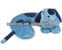 Microfiber dog body pillow