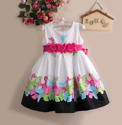 Como hacer un vestidos de fiesta para niña - Imagui