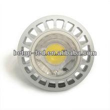 2012 indoor led spotlight fixtures 7w gu10 led spotlighting,CE&ROHS certification