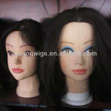 human hair practice head training head