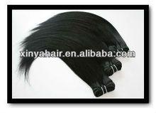 Grade AAAA Silk Straight black women hair products