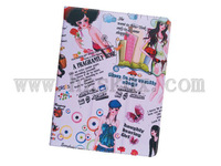 clearance sale SiKai girls cartoon PU leather case for the new ipad 3 2
