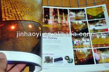 matt lamination LED light catalogue printing factory