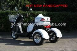 HDT-50P 50cc three wheel handicapped motorcycle