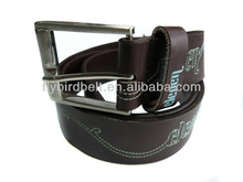 Ali express brown color unisex style leather duty belt