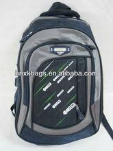newest fashion blue nylon school backpacks teens boy bags
