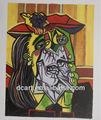 لوحة بيكاسو الساخنة بائع تشتهر ديكور قاعة