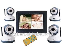 remote control 7 inch screen baby monitor