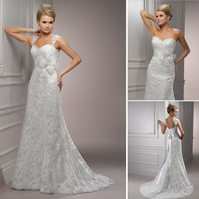 Promotional Wedding Dress With Detachable W