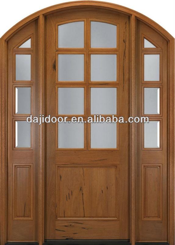Arco 15 Lites latin madera puertas de vidrio diseño con la cara de Lites latin DJ-S9147AST
