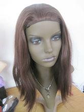 3/4 head band fall half wig