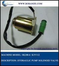 MC609-7421120 SK200-6 hydraulic pump solenoid valve
