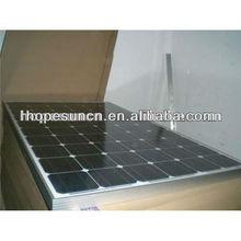 125w monocrystalline photovoltaic solar panel