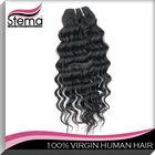 100% temple machine weft purple human hair weaving