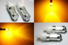 T20 7440 7.5W Super Bright Amber LED SMD Car turn signal light