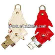 red leather usb flash driver 8gb,8gb leather usb flash stick,white usb flash leather 8gb