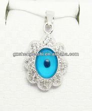 2012 holiday eye pendant