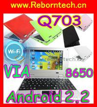 7 inch Android 2.2 Mini Netbook VIA WM8650