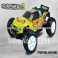 Impactante modelo erc124n 1/10th escala eléctrico alimentado de la rueda 4 juguete truggy
