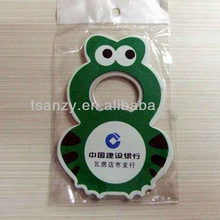 Promotional soft PVC beer bottle openers with custom logos