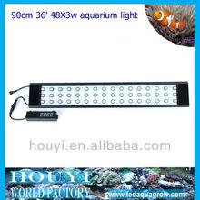 2012 new wholesale led quarium light with full spectrum automatically mimic sunrise/sunset aquarium fresh water led lighting